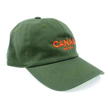 Canal New York Adult Headwear Cap - Olive - Orange