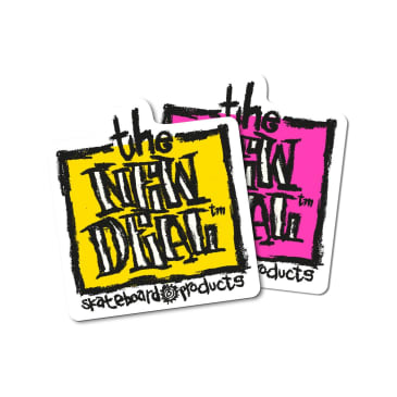 New Deal OG Napkin Stickers x 2 - Pink & Yellow