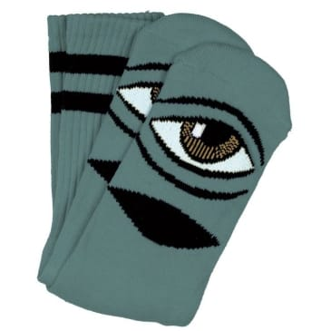 Toy Machine Sect Eye Sock (Sage)