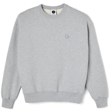 Polar Skate Co Patch Sweatshirt - Sport Grey