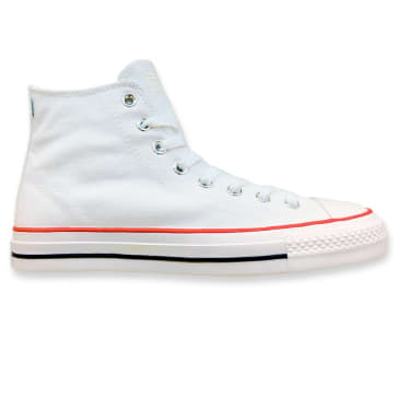 Converse Cons CTAS Pro Hi OX Shoe Canvas White/White