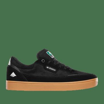 Emerica Gamma Skate Shoes - Black / Gum