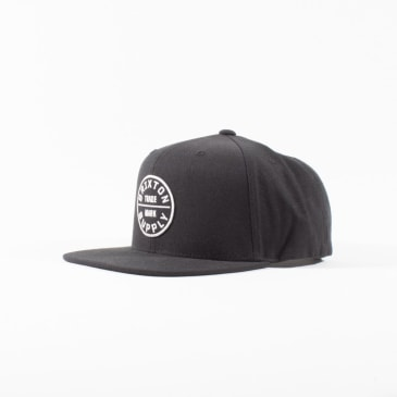 Brixton Oath Snap Back Cap - Black