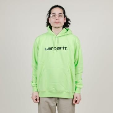 Carhartt WIP Hooded Sweater (Lime)