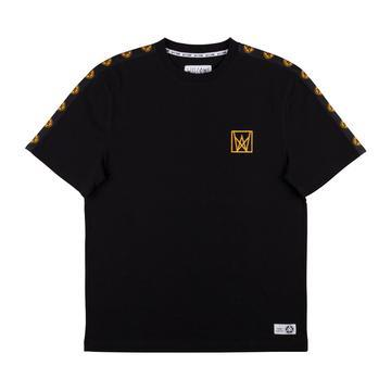Welcome Skateboards Chalice Taped Short Sleeve Knit Black/Gold