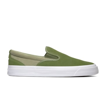 "CONVERSE CONS-""ONE STAR SLIP ON"" (CYPRESS GREEN/STREET SAGE)"