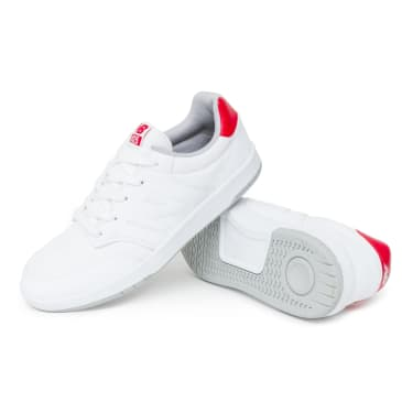New Balance AM425 Shoes - White/Red