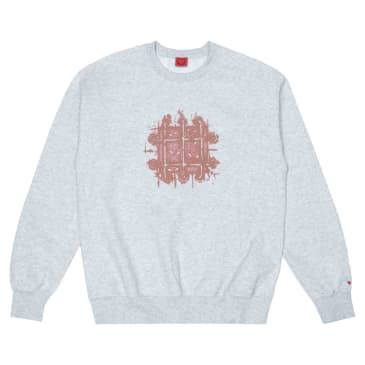 WKND Grate Crewneck - Heather Grey