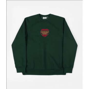 Carhartt x PassPort Thank You Crewneck (Forest Green)