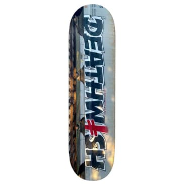 Deathwish Bombing Trains Skateboard Deck - 8.475