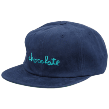 Chocolate Chunk 6 Panel Stapback/ Deep Blue