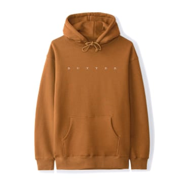 Butter Goods - Hampshire Pullover Hooded Sweatshirt - Brown