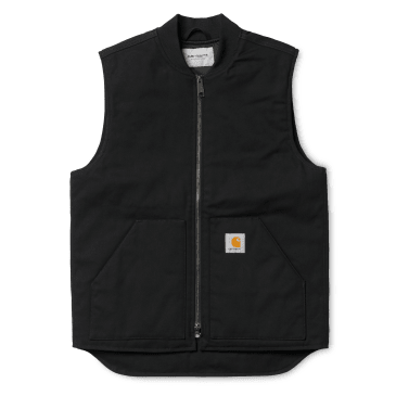Carhartt WIP Vest - Black Rigid