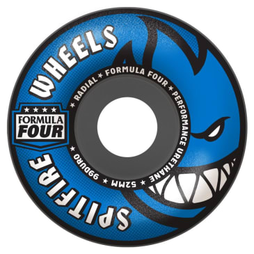 Spitfire Formula Four 56mm 99A Radial Wheels (Grey)