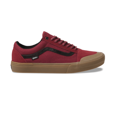 Vans Old Skool Pro BMX - (Ty Morrow) Red/Gum