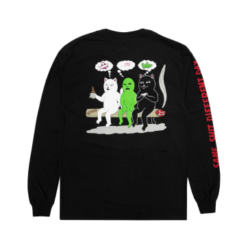 Ripndip Same Dreams Long Sleeve T-Shirt - Black