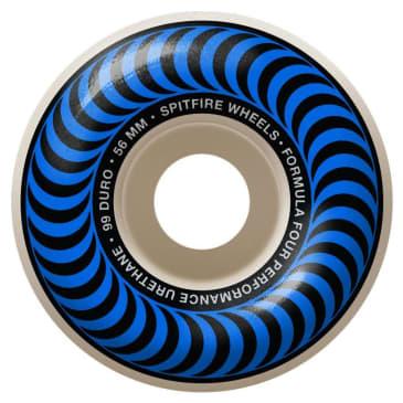 Spitfire - F4 97A Classic 56mm Natural/Blue Wheels