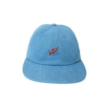 Wayward Skateboards Walphy Sports Cap - Stonewash Denim
