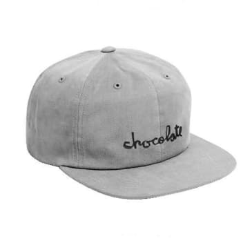 Chocolate Chunk Strap-back 6 Panel Grey