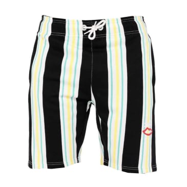Sex Skateboards Onit Resort Shorts - Lime Stripe