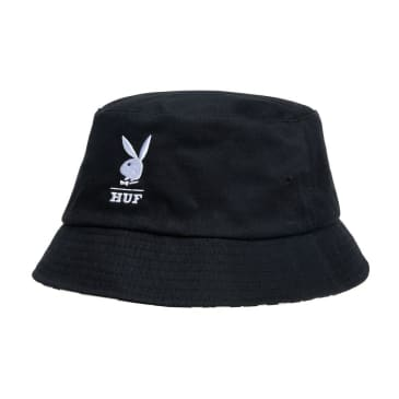 HUF x Playboy Reversible Bucket Hat - Black / White