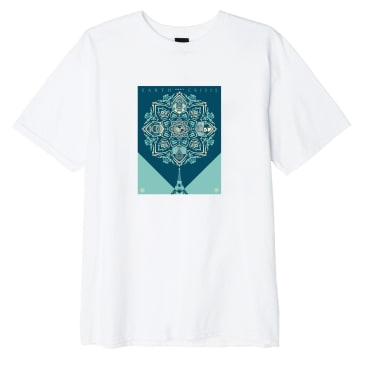 OBEY Earth Crisis Sustainable T-Shirt - White