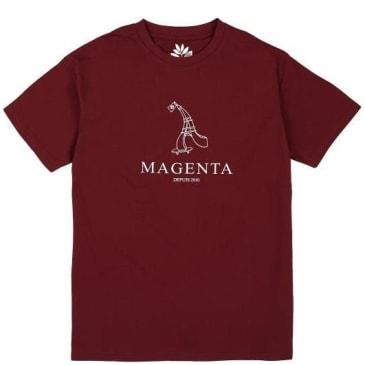 Magenta Skateboards Depuis 2010 T-Shirt - Burgundy