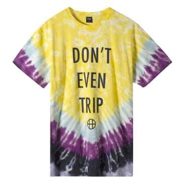 Huf - Don't even trip S/S T-Shirt - Yellow