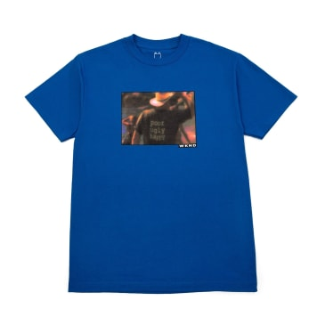 WKND Bad Fish T-Shirt - Royal Blue