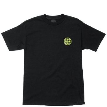 Independent Trucks Stained Glass Cross T-Shirt - Black