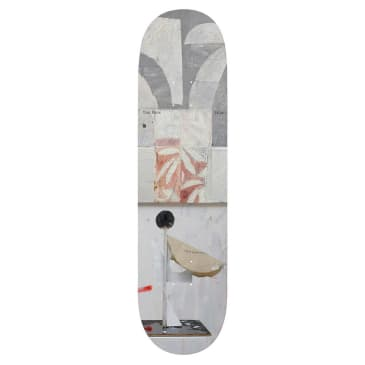 Isle Skateboards Sculpture Series Tom Knox Skateboard Deck - 8.375""