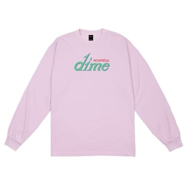 Dime Hotel L/S T-Shirt Pink