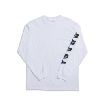 Quasi Prix Long Sleeve T-Shirt - White