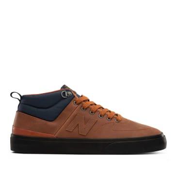 New Balance Numeric 379 Mid Skate Shoes - Cinnamon / Vintage Indigo