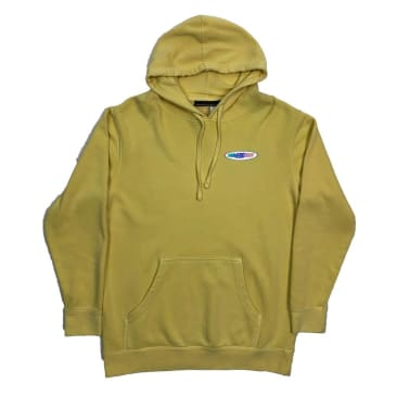 Call Me 917 - Racer Pullover Hood-Washed Yellow
