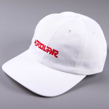 Polar 'Star' 6 Panel Cap (White)