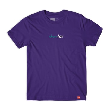 Chocolate Half Chunk Tee Purple
