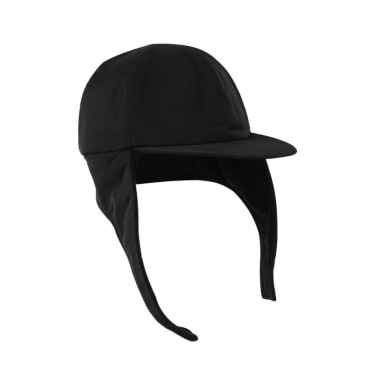 Hélas Flap Cap - Black
