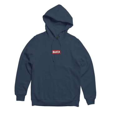 Patch Logo Hoodie   Navy