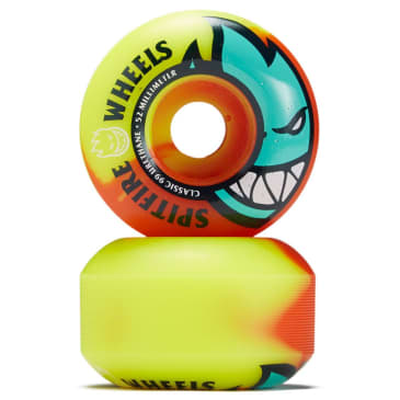 Spitfire - Big Head Neon Orange/Yellow Classic Wheels (53MM/54MM)