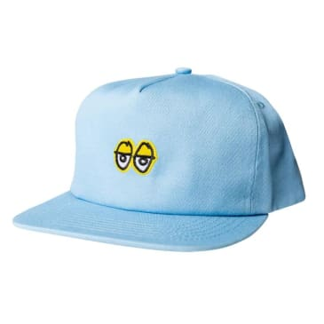 Krooked Eyes Snapback Blue / Yellow
