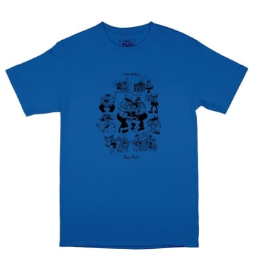 Pass~Port Toby Zoates Coppers T-Shirt - Royal Blue