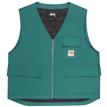 Stüssy Insulated Work Vest - Teal