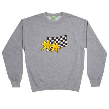 Frog Skateboards Premium Stars Crewneck - Athletic Grey