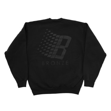 Bronze 56K B Logo Crewneck - Off Black