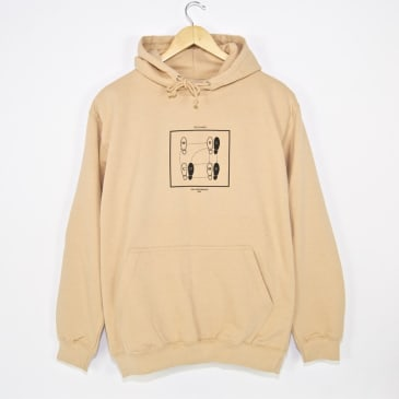 Welcome Skate Store - Let's Dance Pullover Hooded Sweatshirt - Sand