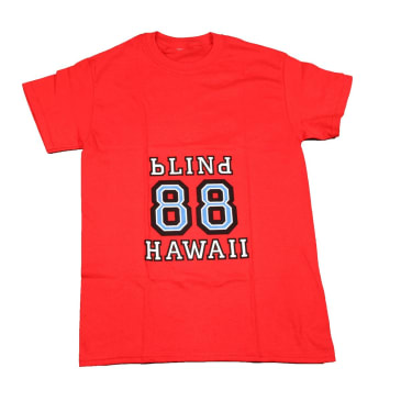Dear Skating - Blind 88 Hawaii Tee - Red