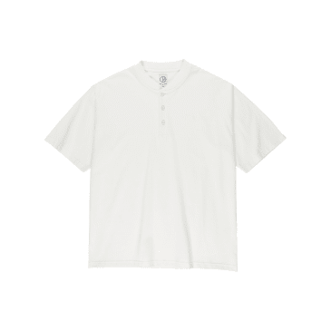 Polar Skate Co - Henley Tee - Cloud White