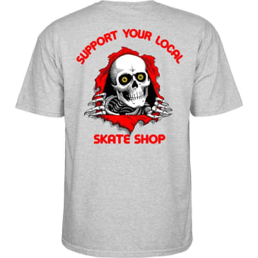 POWELL PERALTA SYLSS Ripper Tee Gray