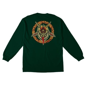 SPITFIRE Touch of Satan Longsleeve Forest Green